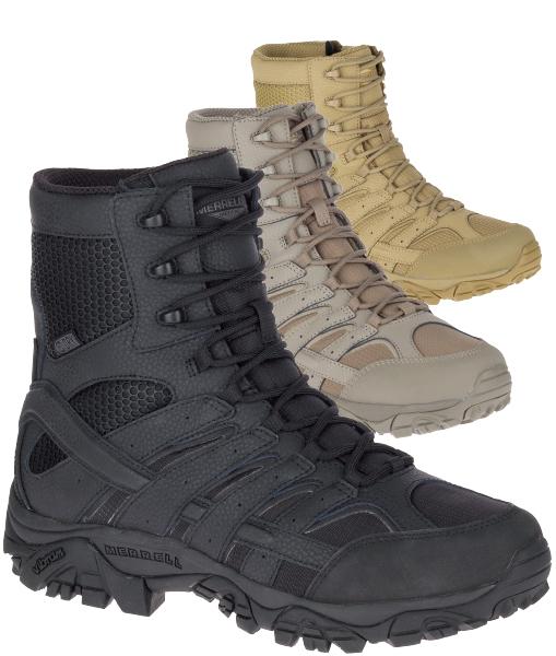 """Merrell Men's MOAB 2 8"""" Tactical Waterproof Boot"""